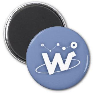 WaltonChain Magnet Runder Magnet 5,7 Cm