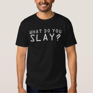 WampaT - was töten Sie? Aurek Tshirt