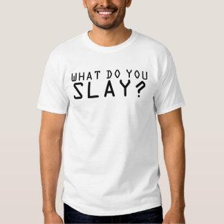 WampaT - was töten Sie? Besh T-Shirt