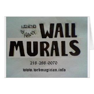 Wand-Wandgemälde durch Klabunde Karte
