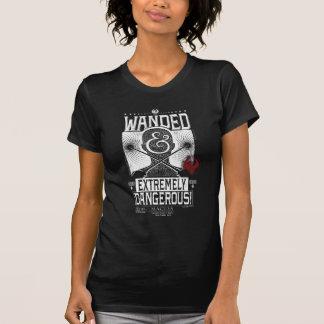 Wanded u. extrem gefährliches gewolltes Plakat - T-Shirt