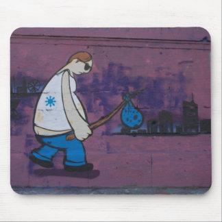 Wanderer-Graffiti Mousepads