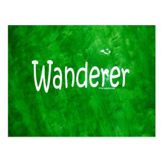 Wanderer Postkarte