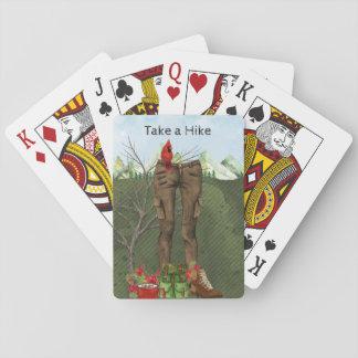 Wandern der Spielkarten