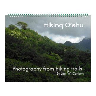 Wandern von Oahu Wandkalender