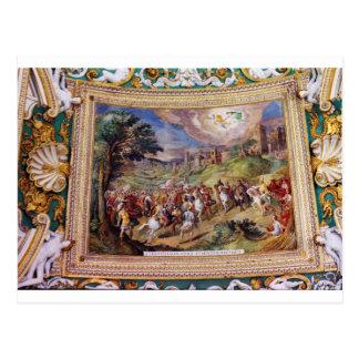 Wandgemälde im Vatikan-Museum Postkarten