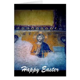 Wandgemälde Jesuss Ostern Karte