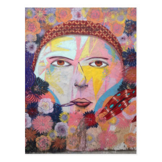 Wandgemälde - WOWCOCO Postkarte