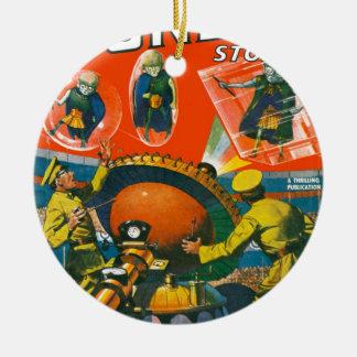 Wanzen-mit Augen Außerirdische in den Kapen Keramik Ornament