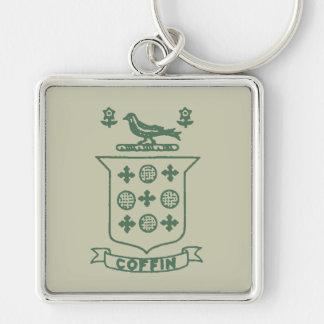 Wappen des Sarg-1620, rundes Keychain Schlüsselanhänger