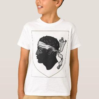 Wappen Korsikas Frankreich T-Shirt