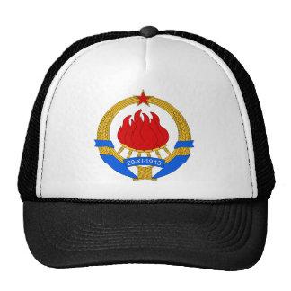 Wappen offizielles Wappenkunde Jugoslawiens symbno Baseball Mütze