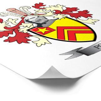 Wappen Papst-Familienwappen Poster