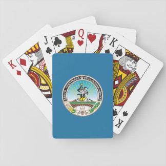Wappen von Adygea Spielkarten