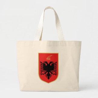 Wappen von Albanien Jumbo Stoffbeutel
