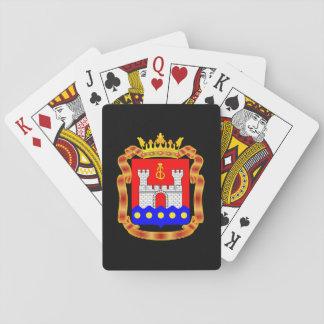 Wappen von Kaliningrad oblast Spielkarten