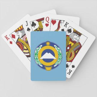Wappen von Karachay-Cherkessia Spielkarten