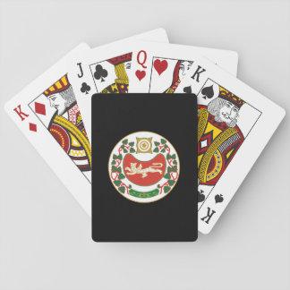 Wappen von Khakassia Spielkarten
