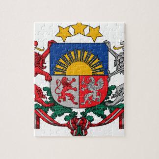 Wappen von Lettland - Latvijas ģerbonis Puzzle