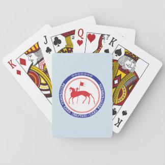 Wappen von Sakha Spielkarten