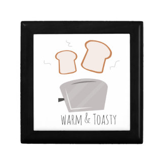 Warm u. Toasty Kleine Quadratische Schatulle