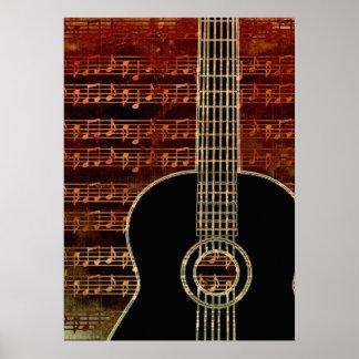 Warme Ton-Gitarre ID280 Poster