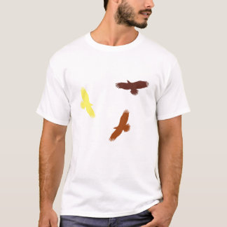 Warme Vögel T-Shirt