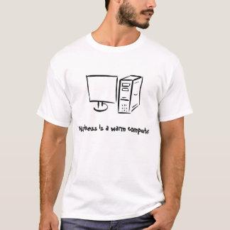 Warmer Computer T-Shirt