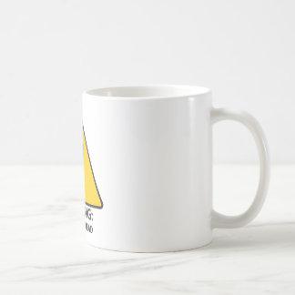 Warnung: Untot voran Kaffeetasse