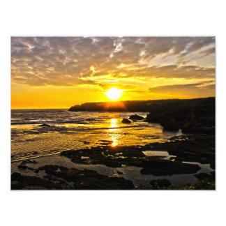 Warrnambool Sonnenuntergang-Druck Foto
