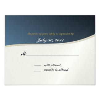 Wartekarte des Musik-Bar-Mitzvah/ 10,8 X 14 Cm Einladungskarte