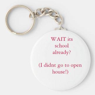 WARTEN Sie seine Schule bereits? , (ich ging nicht Schlüsselband