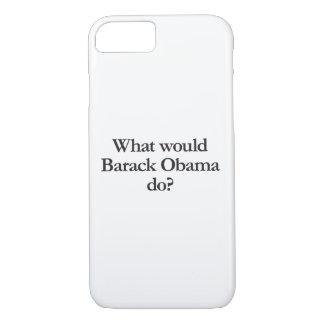 was Barack Obama tun würde iPhone 8/7 Hülle