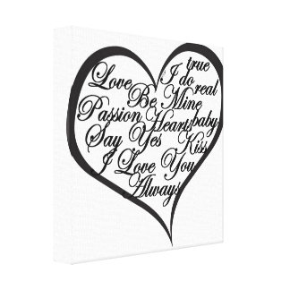 Was Liebe ist Gespannter Galeriedruck