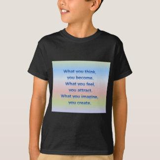 Was Sie denken T-Shirt