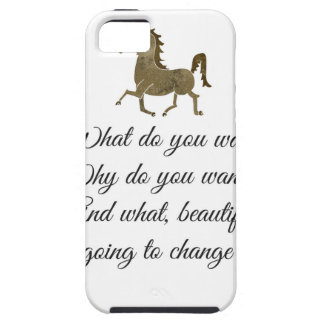 Was wollen Sie Unicorn? iPhone 5 Cover