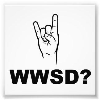 Was würde Satan tun?  WWSD? Photographien