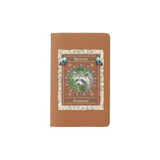 Waschbär - Schutz-Notizbuch-Moleskin-Abdeckung Moleskine Taschennotizbuch