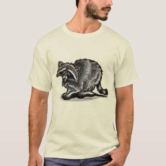 Waschbär voll dargestellt T-Shirt