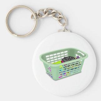 Wäschekorb Keychain Schlüsselanhänger