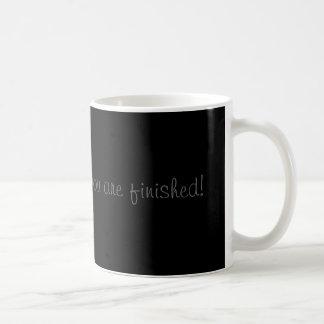 Waschen Sie mich herauf Anweisungs-Tasse Tasse