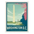 Washington, DC - die Hauptstadt unserer Nation Postkarte