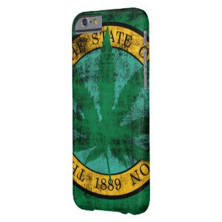 Washington-Flaggen-Topf-Blatt-Schmutz Barely There iPhone 6 Hülle