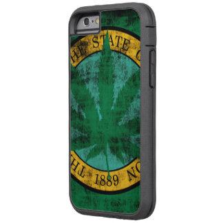 Washington-Flaggen-Topf-Blatt-Schmutz Tough Xtreme iPhone 6 Hülle