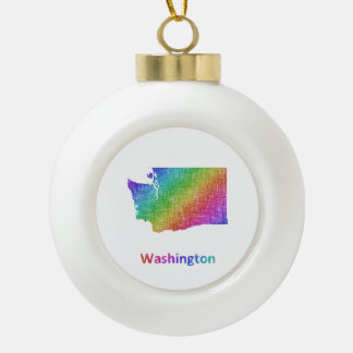 Washington Keramik Kugel-Ornament