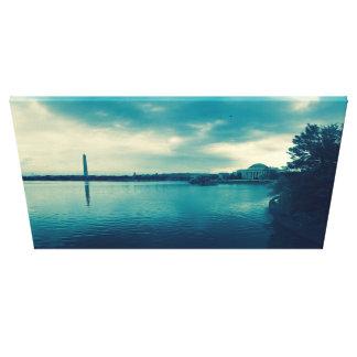Washington-Monumente Leinwanddruck