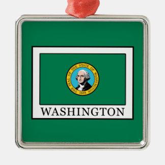 Washington Silbernes Ornament