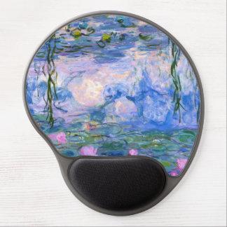 Wasser-Lilien Gel Mousepad