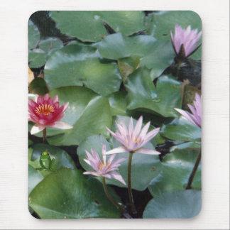 Wasser-Lilien Mauspad