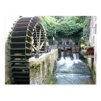 Wasser-Mühle Postkarte